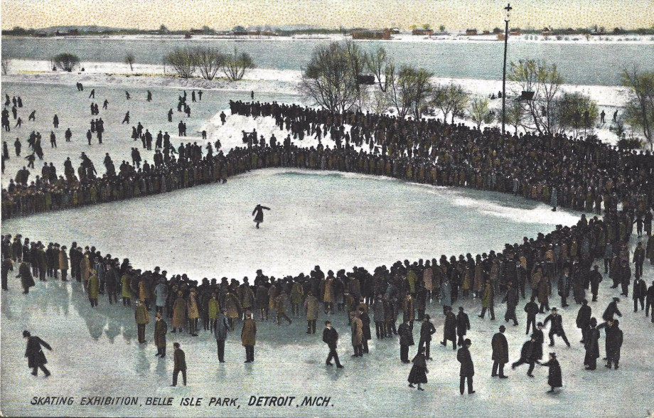 Skating Exhibition on Belle Isle