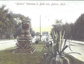 Historic Belle Isle Sphinx